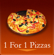 Canadian 1 For 1 Pizzas